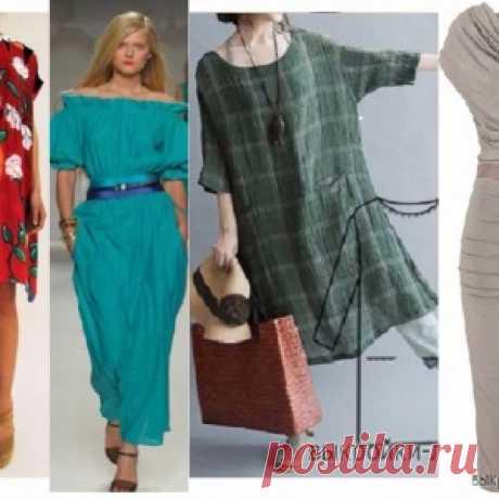 Шьем простые платья - памятки, советы, выкройки - МирТесен