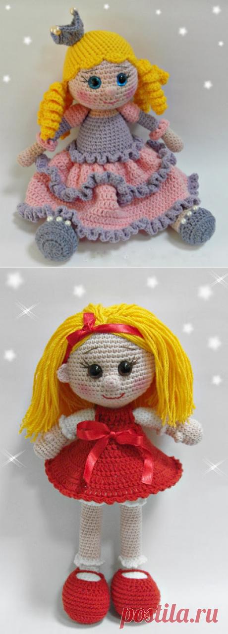 Кукляндия: Куклы. Идеи для вязания одна основа.есть ссылка