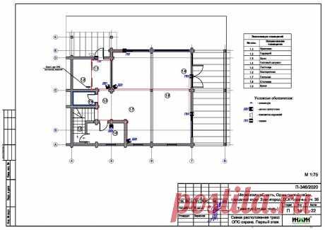 Проект электрики дома пример 548