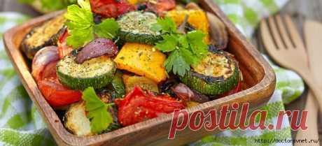 Как приготовить овощи гриль потрясающего вкуса!