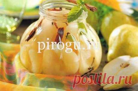 Варенье из груши на зиму с прозрачными дольками в янтарном сиропе