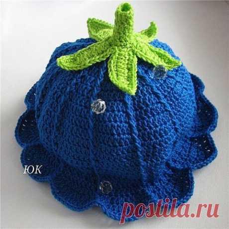 Мир вязания - Схемы, уроки, идеи Вязание: шапочка-колокольчик