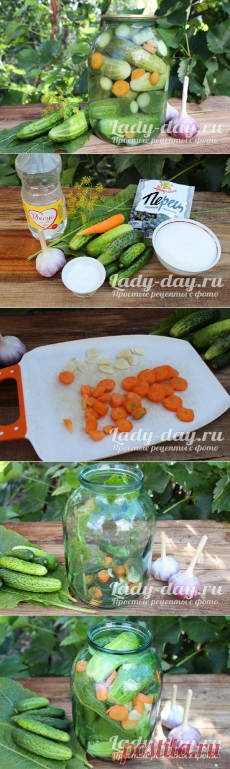 Огурцы с хреном и чесноком на зиму | Простые рецепты с фото