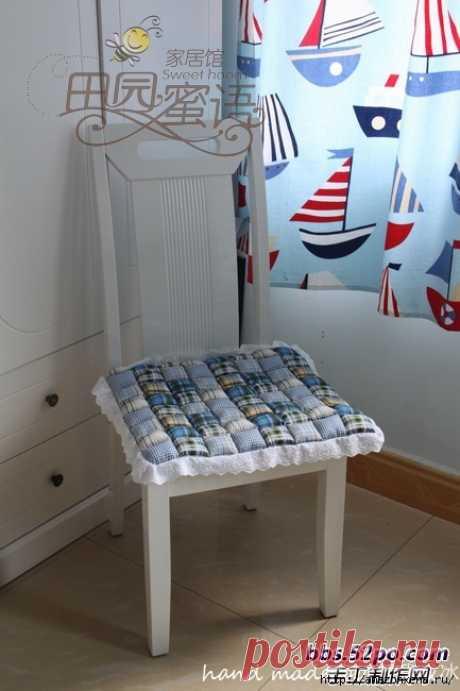 Как сшить мягкую и удобную сидушку для стула — Сделай сам, идеи для творчества - DIY Ideas