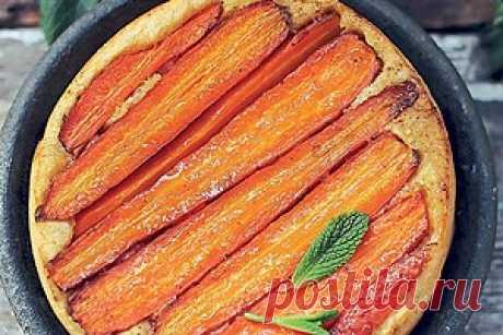 Полезный пирог с морковью: пошаговый рецепт