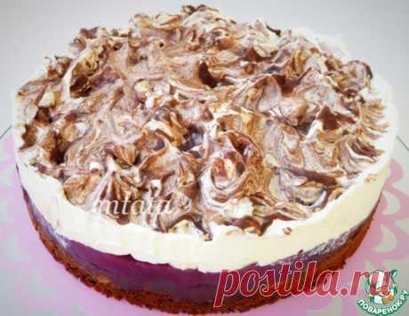 Шоколадно-вишневый торт – кулинарный рецепт