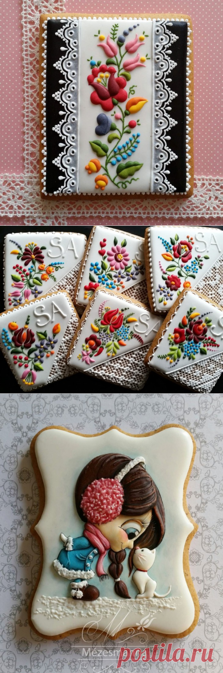 The Hungarian artist and the pastry chef creates art masterpieces from usual cookies