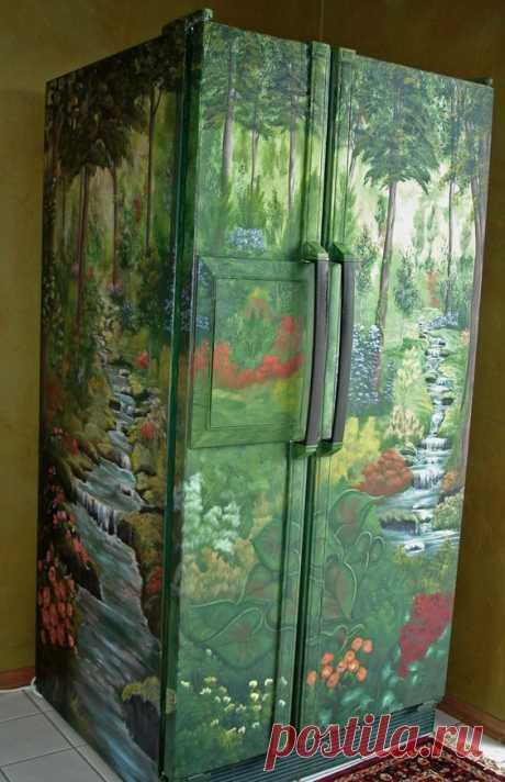 Как декорировать холодильник — Pro ремонт