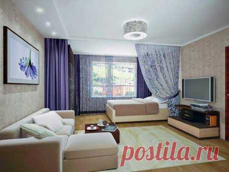 Зонирование комнаты в однокомнатной квартире - Дизайн интерьеров | Идеи вашего дома | Lodgers