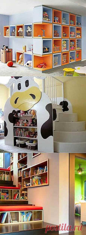 Красивые шкафы в детской комнате - Учимся Делать Все Сами