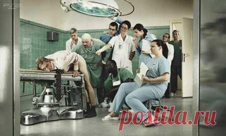 Байка с утра, или Хорошо....  Автор: Иван Паршиков Послали как-то ведущих специалистов дивизионного госпиталя в головной госпиталь в Москву на повышение квалификации. Месяц там проповышали квалификацию и наконец, зачеты. Вечером …