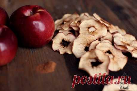 Яблочные чипсы | Женское кредо