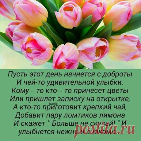 Доброе утро! Чудесного дня!! 😊