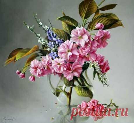 Цветочная живопись художника Питера Вагеманса | ЛЮБОВЬ ПРУСИК | Яндекс Дзен