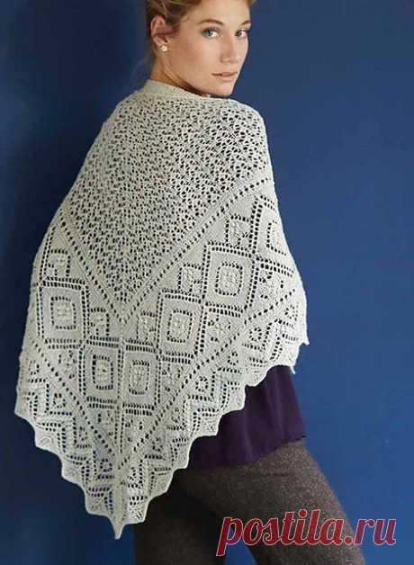 Ravelry: #27 Promenaadi Shawl pattern by Nancy Bush