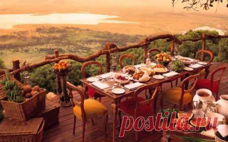 Рестораны мира, в которых еда не главное / Туристический спутник
