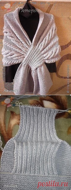 Такой шарф может быть очень нужной вещью в Вашем гардеробе.