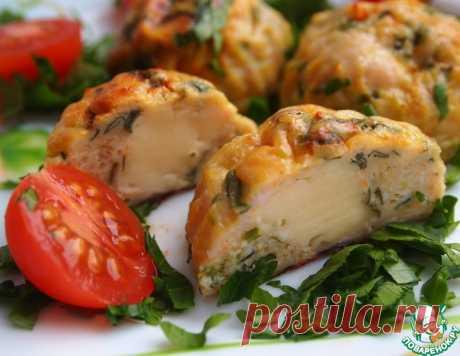 Курино-овощные шарики с сыром – кулинарный рецепт