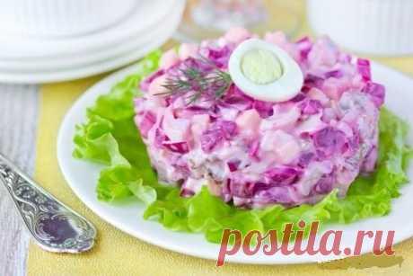 Пурпурный салат