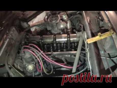 Замена успокоителя цепи в двигателе на ВАЗ 2107.