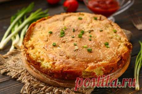 Минутный пирог из капусты, просто тает во рту: пошаговый рецепт с фото