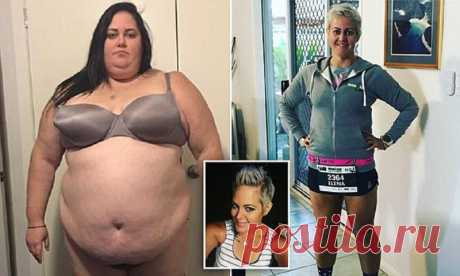 The girl dumped 115 kilograms, having changed fast food for a thriathlon (9 photos) | Oh, damn 29-year-old Elena Gudoll from the Australian Keyrns weighed 184 kilograms, and the doctor told her that she is hardly fated to live till 35 years. And then the woman decided to fight. She refused favourite fast food, played sports - and as a result in one and a half years dumped 115 kilograms. Now she is engaged in a thriathlon, participates in the well-known marathon