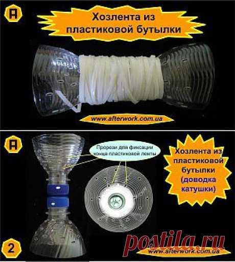 La cinta económica de la botella de plástico | Es creado Después del Trabajo