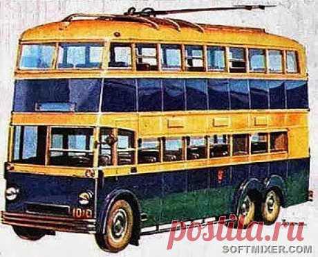 троллейбус 1938 года