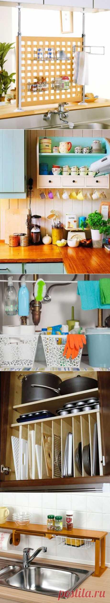 Идеи хранения для кухни | МОЙ ДОМ