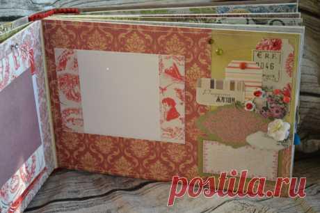 Альбом - Скрапбукинг (бумажный) - Babyblog.ru
