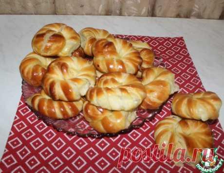 Булочки с творогом – кулинарный рецепт