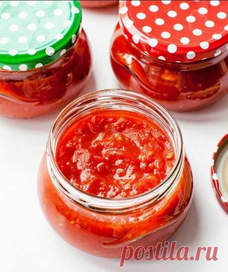 А я Краснодарский томатный соус по ГОСТу правильно готовлю (без мясорубки)! Густой без уваривания, запишите рецепт обязательно | В саду у Валентинки | Яндекс Дзен