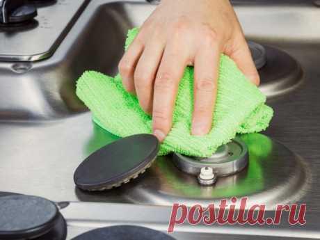 Чистая плита легким движением руки — Полезные советы
