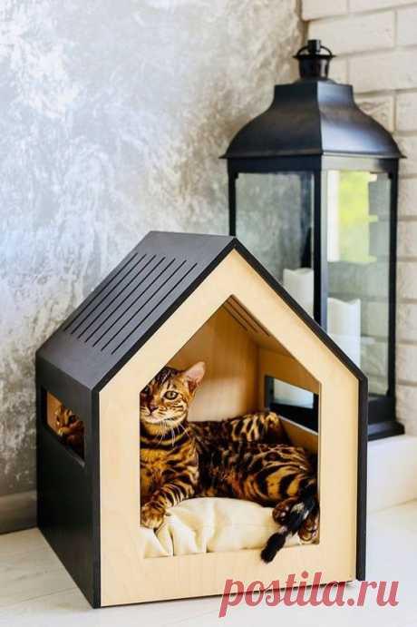 Эффектные домики для домашних животных / Для питомцев / ВТОРАЯ УЛИЦА - Выкройки, мода и современное рукоделие и DIY