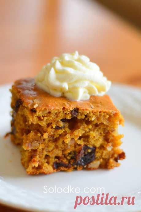 Solodke: Тыквенный пирог