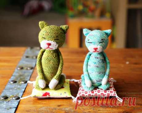 Коты аминеко - схема кота крючком