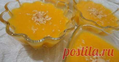 Десерт «Оранжевое настроение»