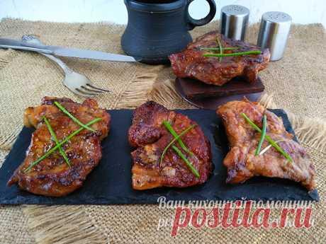 Мясо по-японски рецепт с соевым соусом и чесноком - пошаговый рецепт с фото