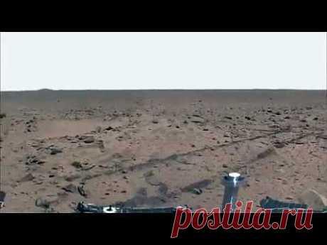 Голубое небо на Марсе! NASA хотела скрыть Истенные фото! - YouTube