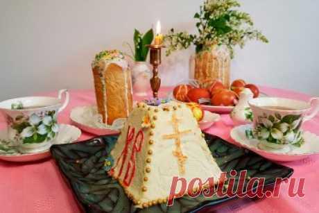 Пасхальный стол: вкусные традиции