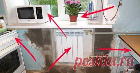 Когда хочется просторной кухни в хрущевке! 10 способов расширить ее без капитального ремонта. — 1001 СОВЕТ