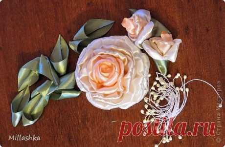 Роскошная пышная роза — Сделай сам, идеи для творчества - DIY Ideas