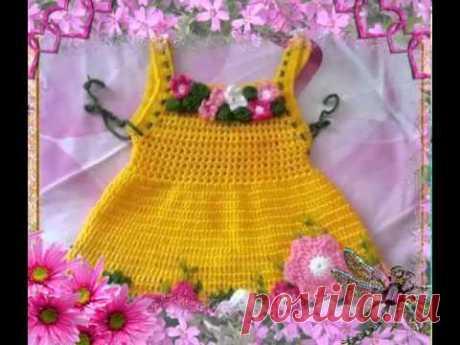 Los vestidos veraniegos tejidos Tejemos con Liudmila Ten