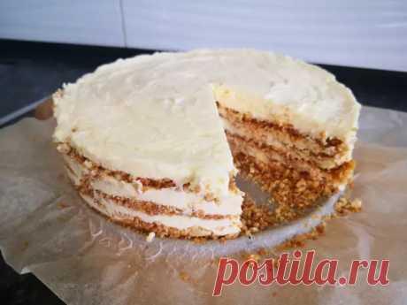 """Торт """"Пломбир"""" рецепт пошагово с фото: быстро, просто и доступно! - Домашняя выпечка - медиаплатформа МирТесен"""