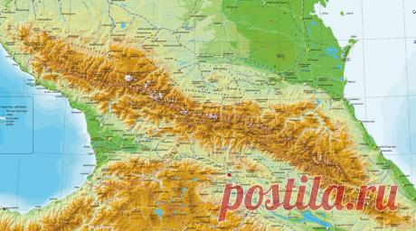 О рельефе Большого Кавказа | Популярная наука | Яндекс Дзен