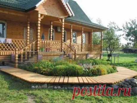 Дачное крыльцо – Ой! — ЭНКИСТРОЙ | Строительство деревянных домов