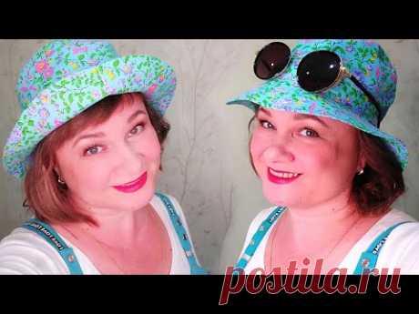 Летняя шляпа (панама) Выкройка и пошив Мастер-класс