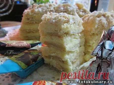 """Торт """"Наполеон"""" - Выпечка,тортики и прочее - Кулинарные рецепты ! - ФотоКулинария(***)"""