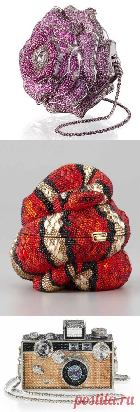 Королева сумок Judith Leiber и ее невероятные работы