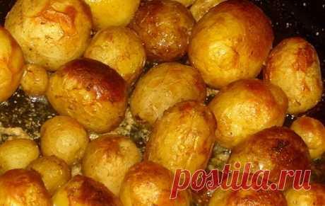 Запечённая молодая картошка в мультиварке: рецепт с фото